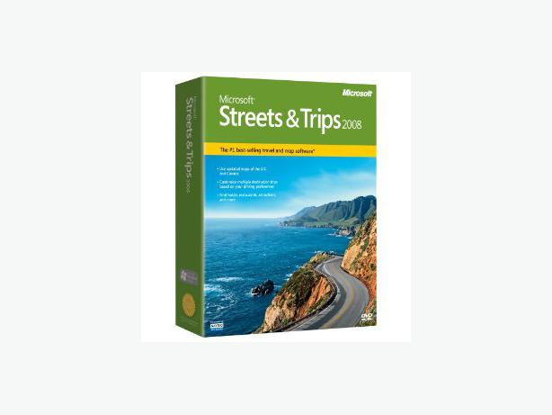 Microsoft Streets and Trips 2008 (new in box)