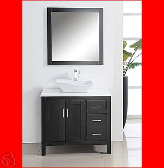 Solid Wood Bathroom Vanities Vancouver Sink Faucet Mirror ...