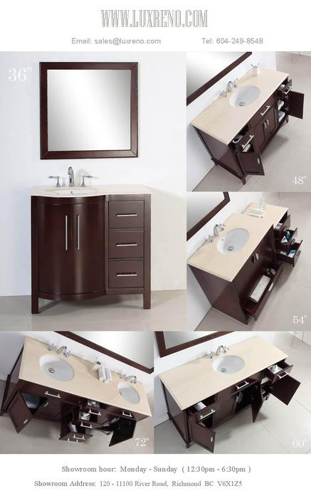 Solid Wood Bathroom Vanities Vancouver Sink Faucet Mirror Best Price Guaranteed Richmond Vancouver