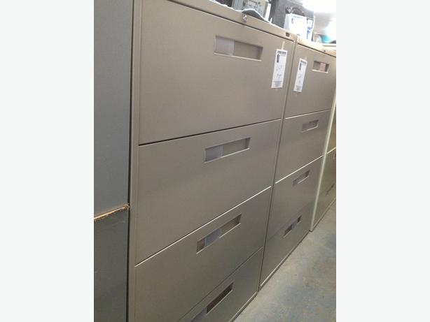 Lateral File Cabinets, new stock