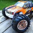 NEW 1/8 SCALE TORNADO PRO NITRO 4WD RC TRUCK 2.4GHz
