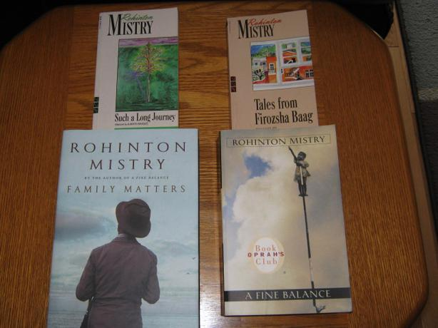 a comparison of the novels a fine balance and family matters by rohinton mistry Set in bombay in the mid-1990s, family matters tells a story of familial love and obligation, of personal and political corruption, of the demands of tradition and the possibilities for compassion  rohinton mistry is the author of three novels,  a fine balance was winner of the giller prize, the commonwealth writers prize for best book.