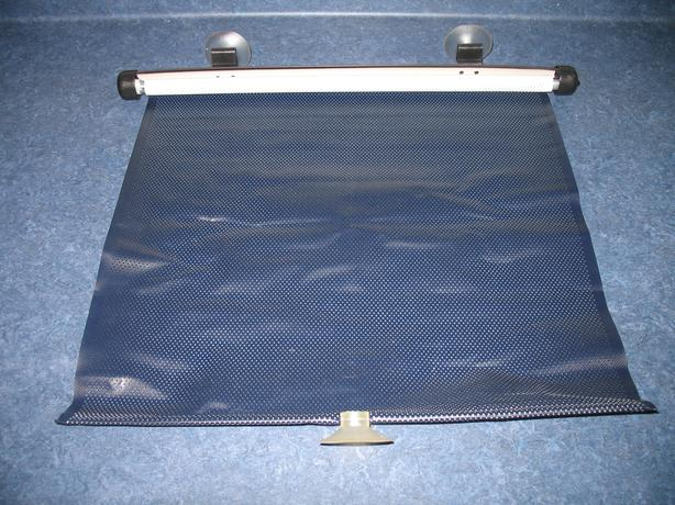 Automobile window blind