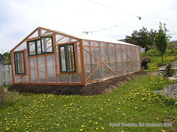 FREE: (Greenhouse at home - Building Plan)