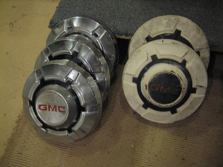 Salt Lake Valley Gmc >> SOLD! GMC 3/4t Hubcaps (1969-1972) Saanich, Victoria