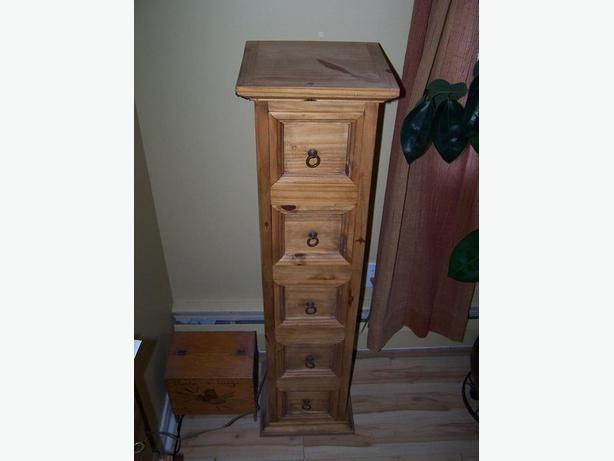 Looking for tall boy dresser / tall narrow cabinet as in picture