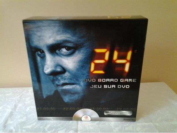 '24' DVD Board Game