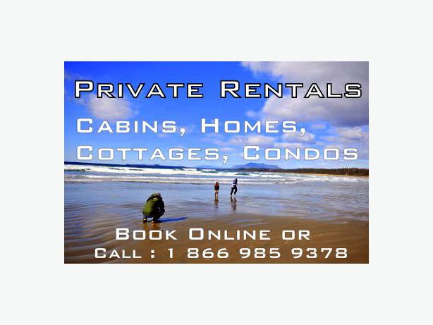 FULLY FURNISHED PRIVATE WEST COAST HOUSE RENTALS / SHORT TERM