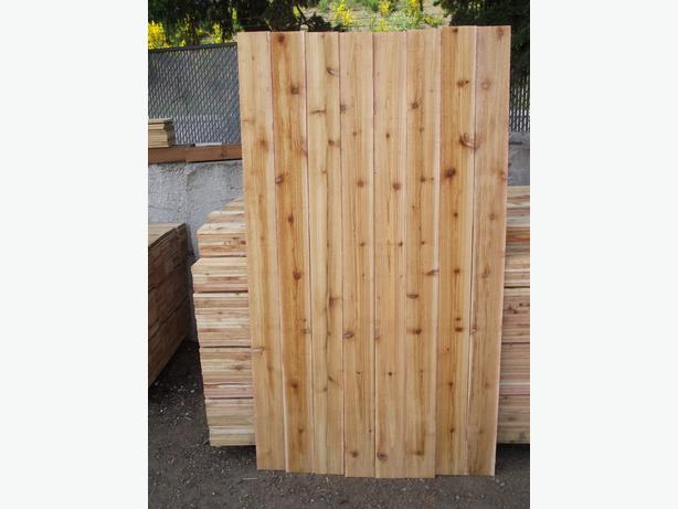 Cedar 6x8 Lattice Fence Panels On Sale 79 99 Chemainus