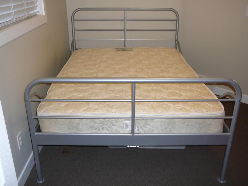 fs queen size heimdal metal bed frame with base and 11858 | 32018760 934