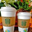 Eco compostable food take out containers made from sustainable resources.