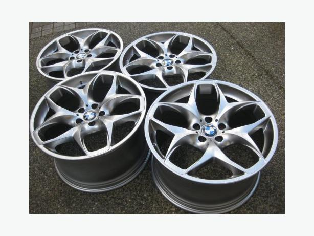 Set Of 21 Quot X5 Sport Package Oem Rims Euro Silver Flawless