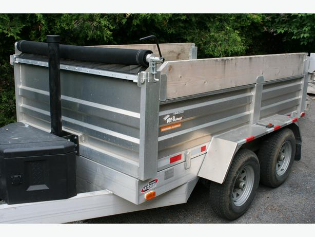 5 TON DUMP TRAILER FOR HIRE