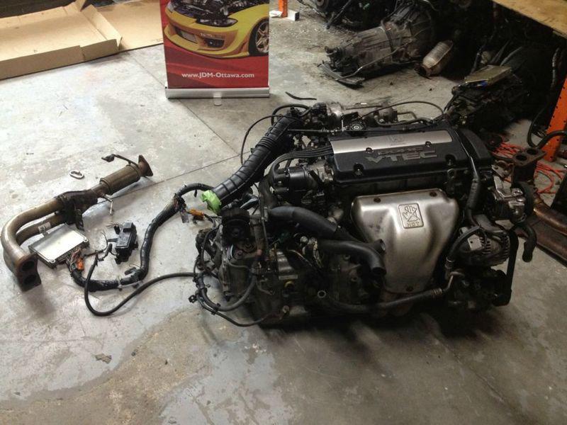 Jdm Honda Prelude H22 A Dohc Vtec Engine At Transmission