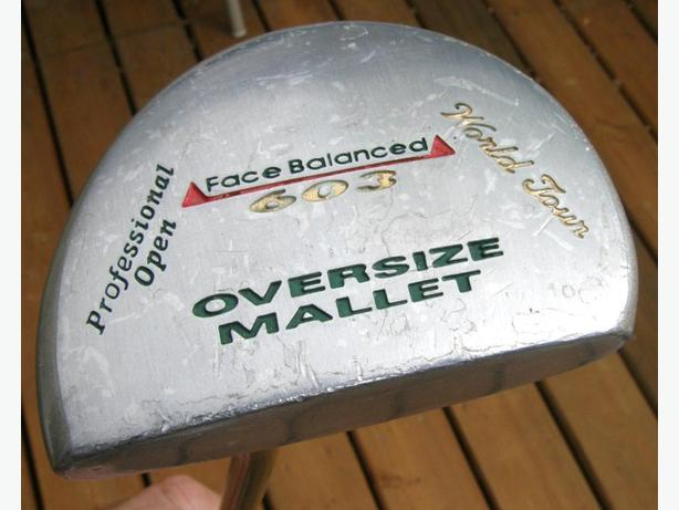 World Tour 602 Oversized Mallet PRO Type Right Hand Putter VGC