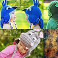 Crochet Animal hats, Photo Props and Crochet Patterns