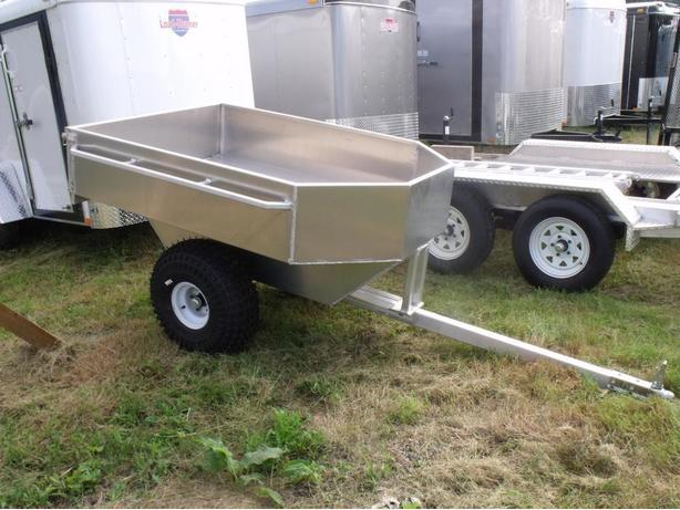 4X5 EXPRESS CUSTOM ATV Tub Trailer
