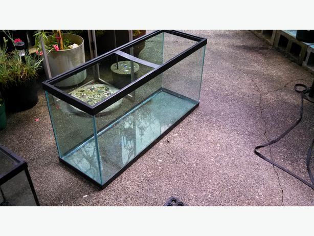 33 gallon fish tank no leaks saanich victoria for How to fix a leaking fish tank
