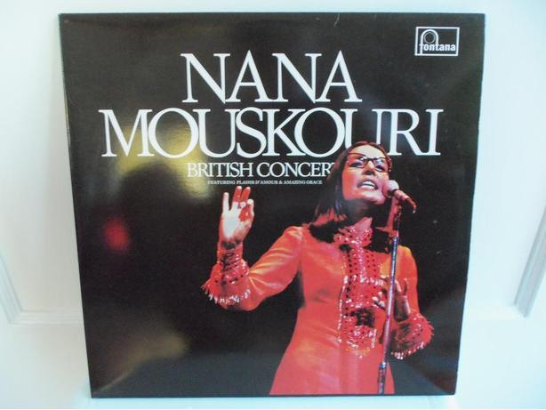 LPs by Nana Mouskouri, Melanie, Peter Nero