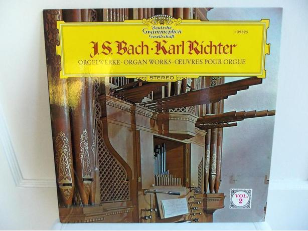 LPs by J.S. Bach and Karl Richter, Andre Kostelanetz, Beethoven, Sammy Lowe