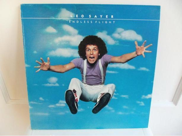 LPs by Leo Sayer, Tony Bird, Paul Williams, Simply Red, Afterglow, Wild Cherry