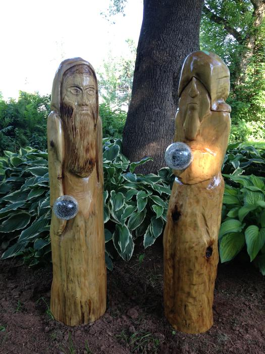 Chainsaw carvings summerside pei