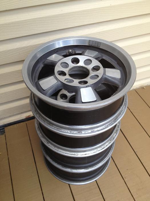 "West Houston Vw >> Porsche 914 ""Riviera"" alloy wheels - 4 bolt 15"" fits VW Bug Saanich, Victoria"