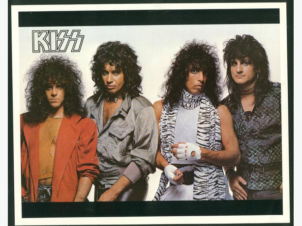 Kiss 8 X 10 Photo 1984 Animalize