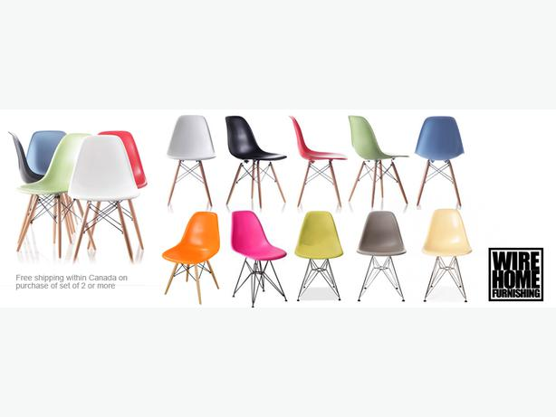 Modern classic eames dining chairs chic tolix chair and