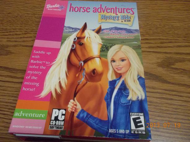 Barbie Horse Adventures CD-Rom   -