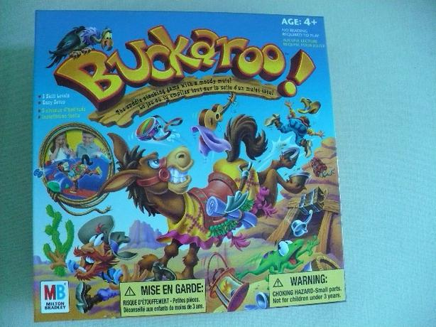 Buckaroo Family Game