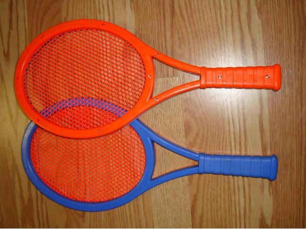 Set of 2 Plastic Rackets - Excellent Quality and Condition!
