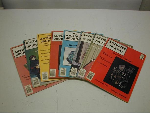 Antiques Journal Magazines - Updated