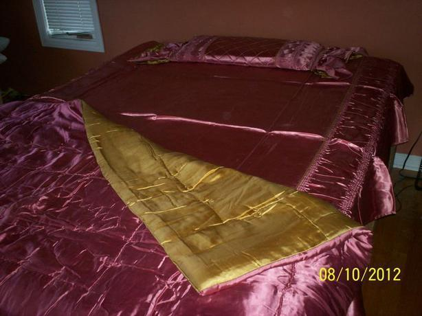 Antique Satin Comforter