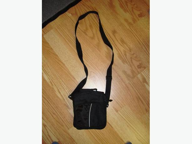Lot #13 - Small Black Purse Bag with White Stripe -$5