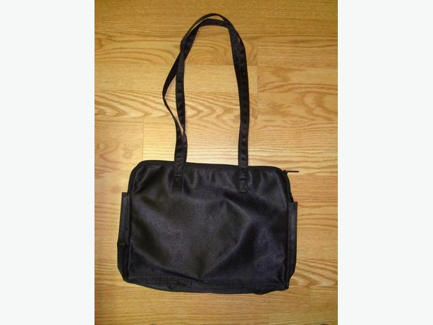 Lot #14 - Brand New Black Silk Purse Bag Organizer - $5