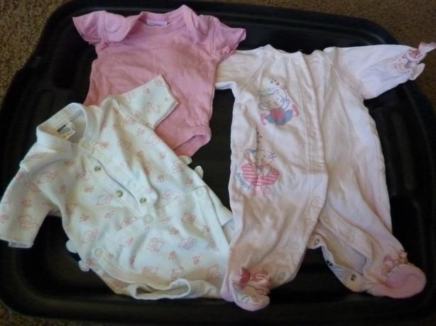 Pink Clothes - Size 0-3 months