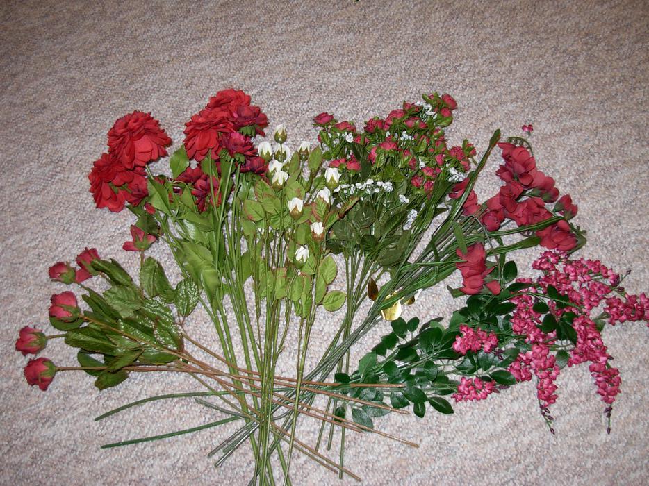 Wedding Bouquets Kamloops : Silk flowers burgandy wedding west shore langford