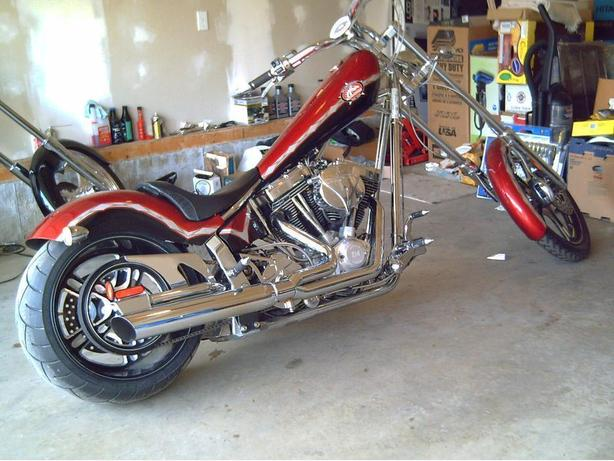 "2006 American Ironhorse Texas Chopper 124"""