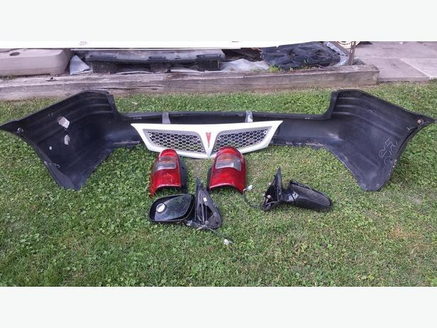 Parts from 99-05 Pontiac Montana and Chevrolet Venture