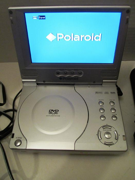 polaroid pdv 0700 silver portable dvd player 7 inch central ottawa inside greenbelt ottawa. Black Bedroom Furniture Sets. Home Design Ideas