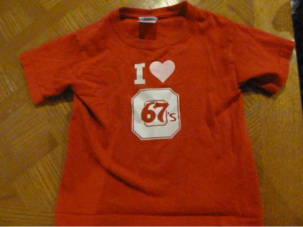 Ottawa 67's Hockey Tshirt Size 2T