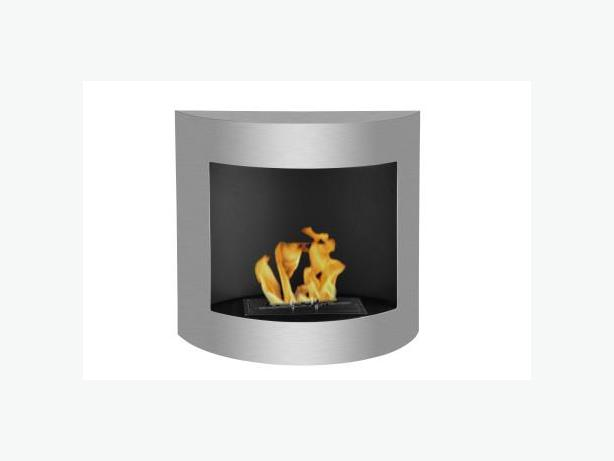 Foyer l 39 thanol mural wallmount ethanol fireplace for Foyer mural ethanol