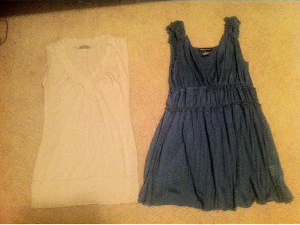 Women's Shirts and a Dress