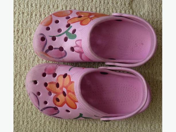 Girls crocs size 2