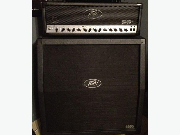 peavey 6505 plus head and matching 4x12 slant cab half stack orleans ottawa. Black Bedroom Furniture Sets. Home Design Ideas