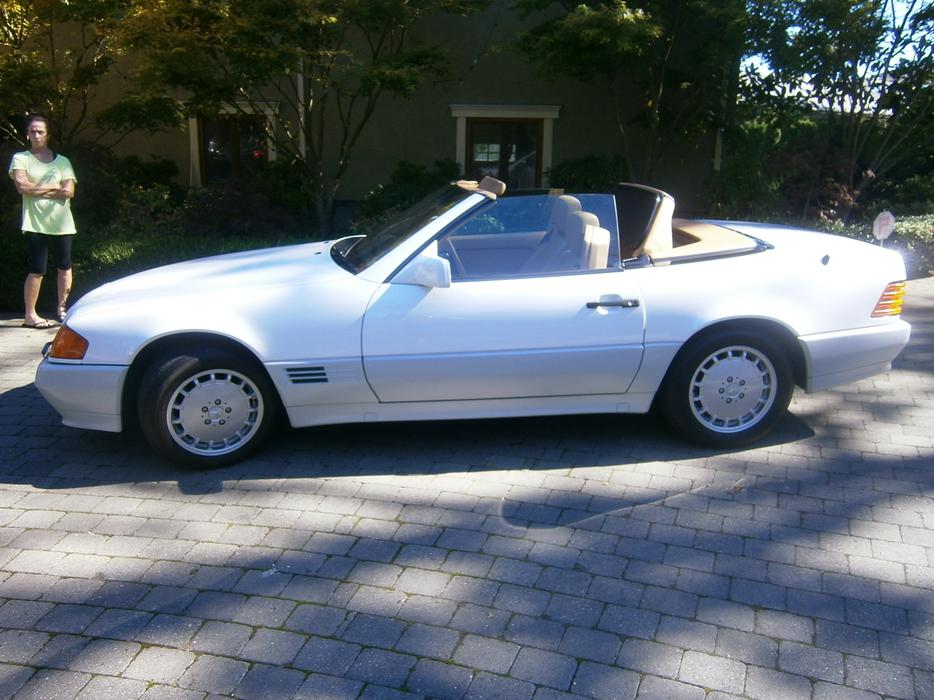 1991 mercedes benz 300sl roadster victoria city victoria for 1991 mercedes benz 300sl