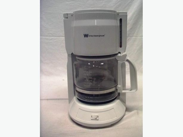White Westinghouse 12 Cup Coffee Maker Central Ottawa