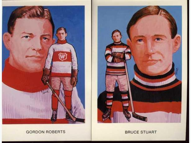 Ottawa Senators Hockey Hall of Fame Post Cards