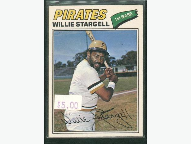 1977 O-Pee-Chee #25 Willie Stargell Card